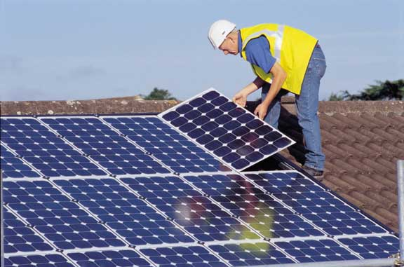 Instalación de paneles fotovoltaicos