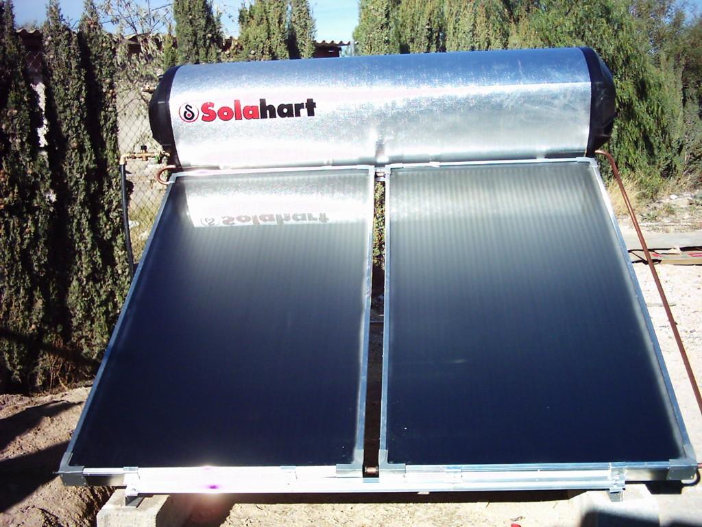 Instalación Compacto Solahart