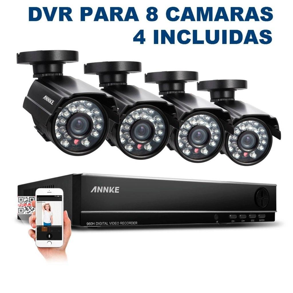 videovigilancia kit