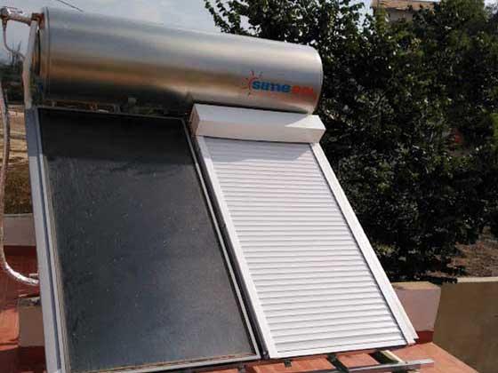 Compacto solar con control de insolación