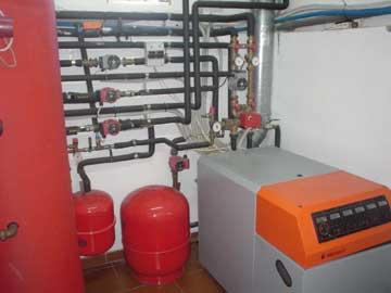 Instalación Calefacción y Central Térmica
