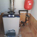 Une chaudière de gas-oil pour chauffage
