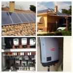 Énergie photovoltaïque autoconsommée de 3,3 kW à double orientation