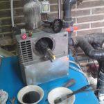Processus de maintenance de la chaudière diesel