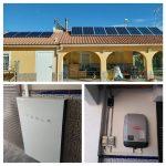 Fotovoltaica autoconsumo con batería TESLA