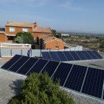 fotovoltaica con doble orientación