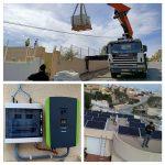 fotovoltaica con lastres en Montiboli